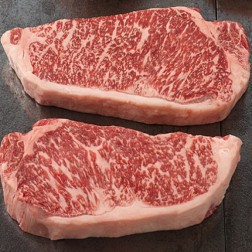 Wagyu Beef 16 oz. Strip Steak '4 PACK'